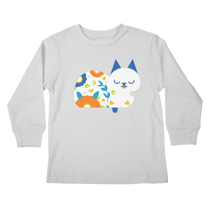 Tattoed Tabby Kids Longsleeve T-Shirt by mixtapecomics's Artist Shop