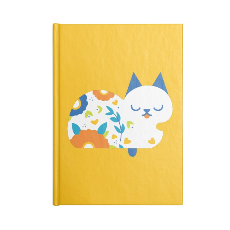 Tattoed Tabby Accessories Blank Journal Notebook by Mixtape Comics