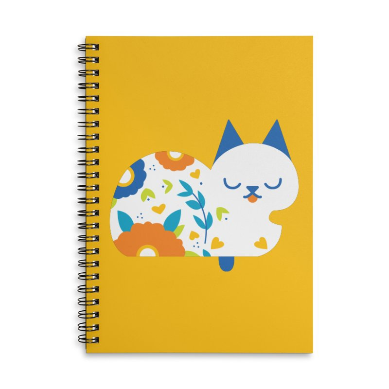 Tattoed Tabby Accessories Notebook by Mixtape Comics