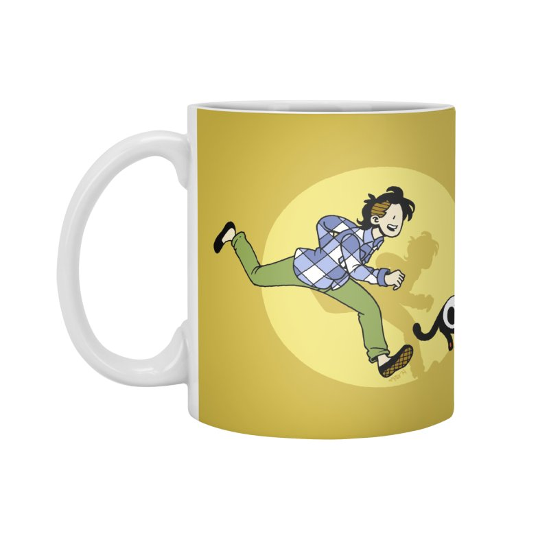 The Adventures of Frankie Accessories Standard Mug by Mixtape Comics