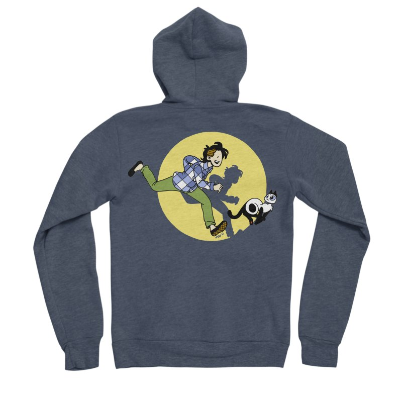 The Adventures of Frankie Men's Sponge Fleece Zip-Up Hoody by Mixtape Comics