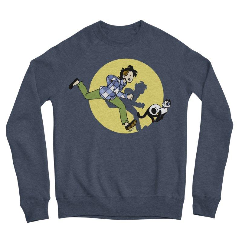 The Adventures of Frankie Men's Sponge Fleece Sweatshirt by Mixtape Comics