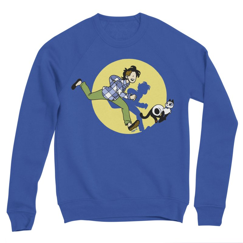 The Adventures of Frankie Women's Sponge Fleece Sweatshirt by Mixtape Comics