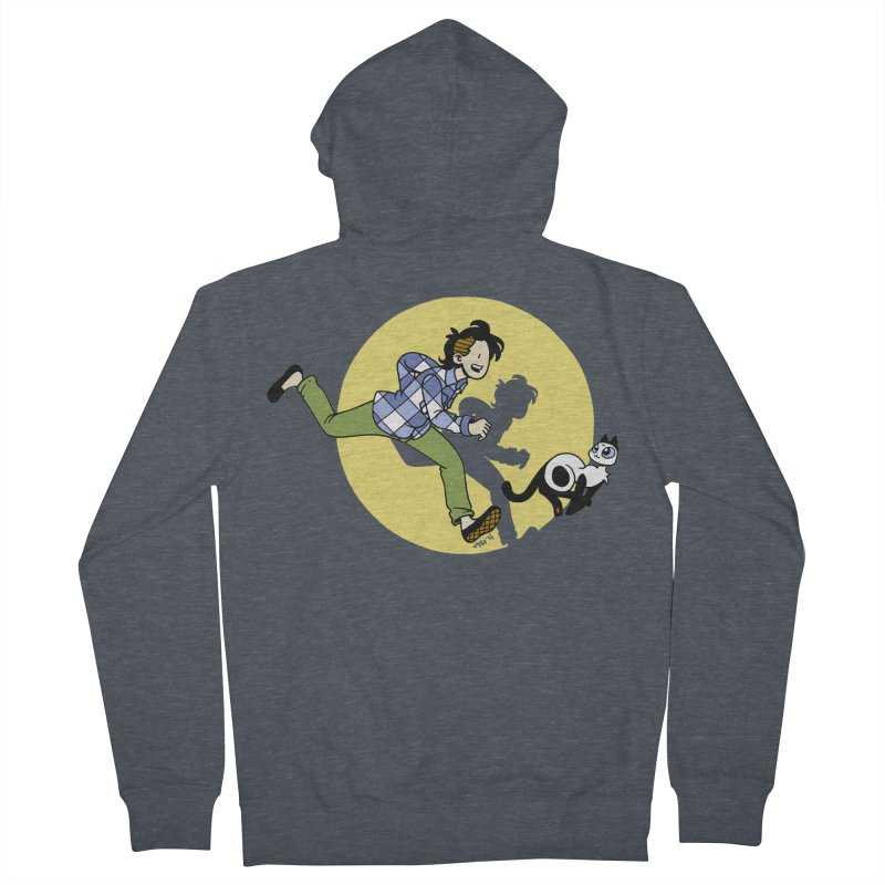 The Adventures of Frankie Men's French Terry Zip-Up Hoody by mixtapecomics's Artist Shop