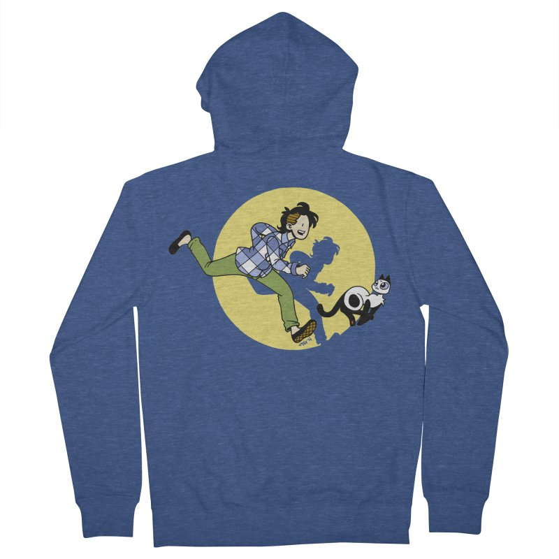 The Adventures of Frankie Men's Zip-Up Hoody by mixtapecomics's Artist Shop