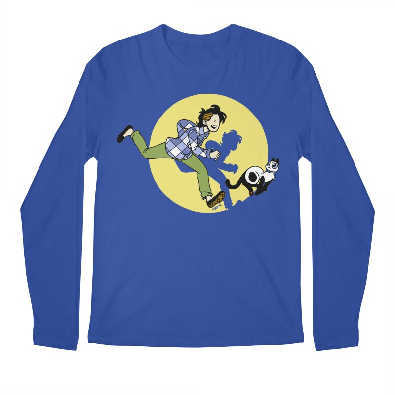 The Adventures of Frankie Men's Regular Longsleeve T-Shirt by mixtapecomics's Artist Shop