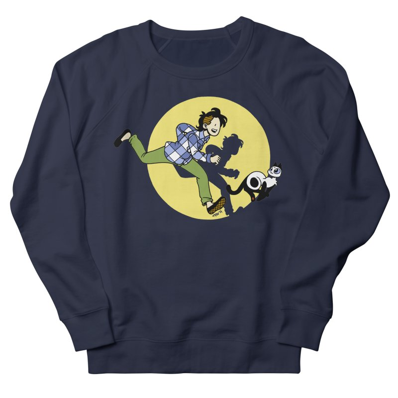 The Adventures of Frankie Women's French Terry Sweatshirt by Mixtape Comics