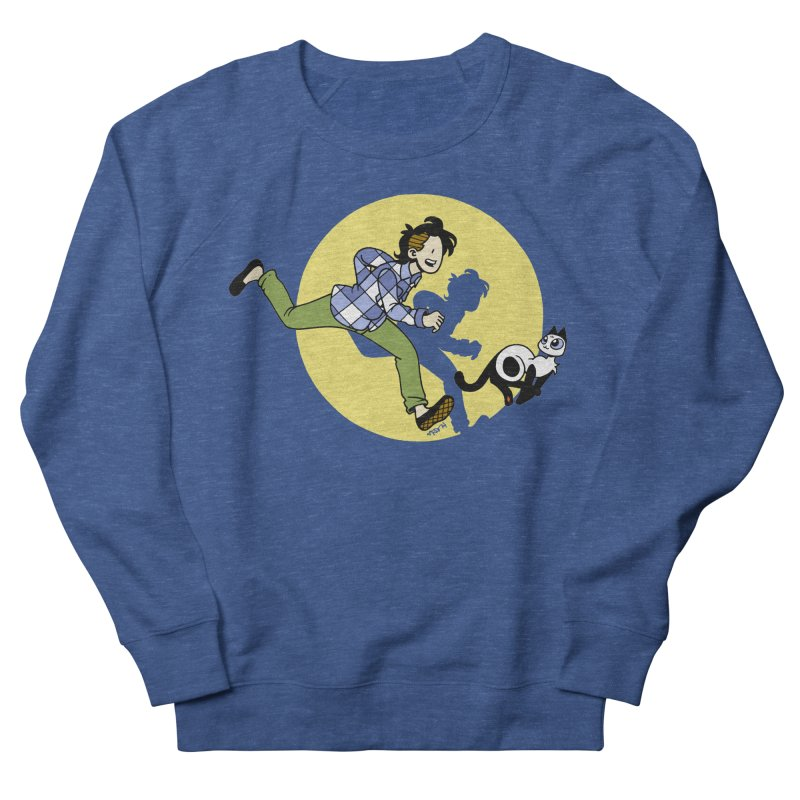 The Adventures of Frankie Men's French Terry Sweatshirt by Mixtape Comics