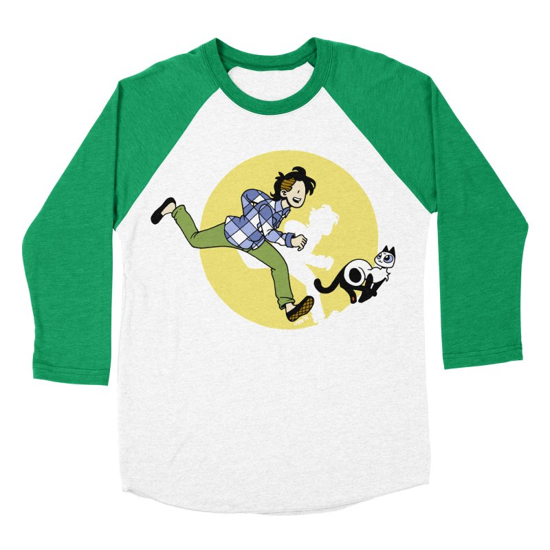 The Adventures of Frankie Women's Baseball Triblend Longsleeve T-Shirt by mixtapecomics's Artist Shop
