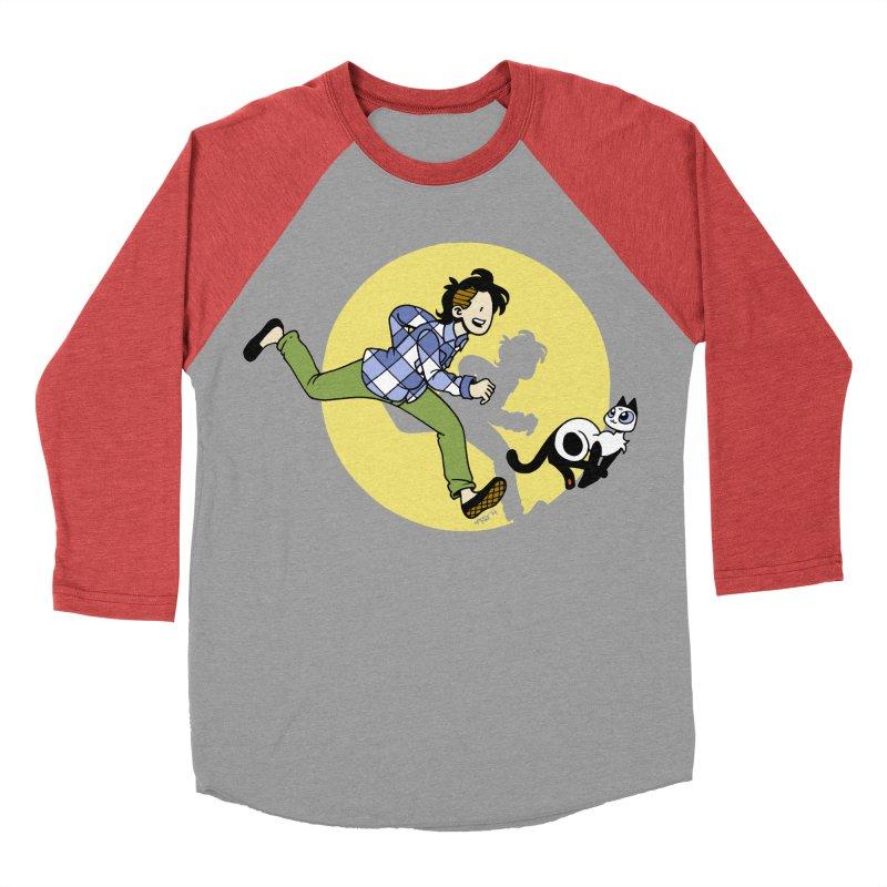 The Adventures of Frankie Men's Baseball Triblend Longsleeve T-Shirt by mixtapecomics's Artist Shop