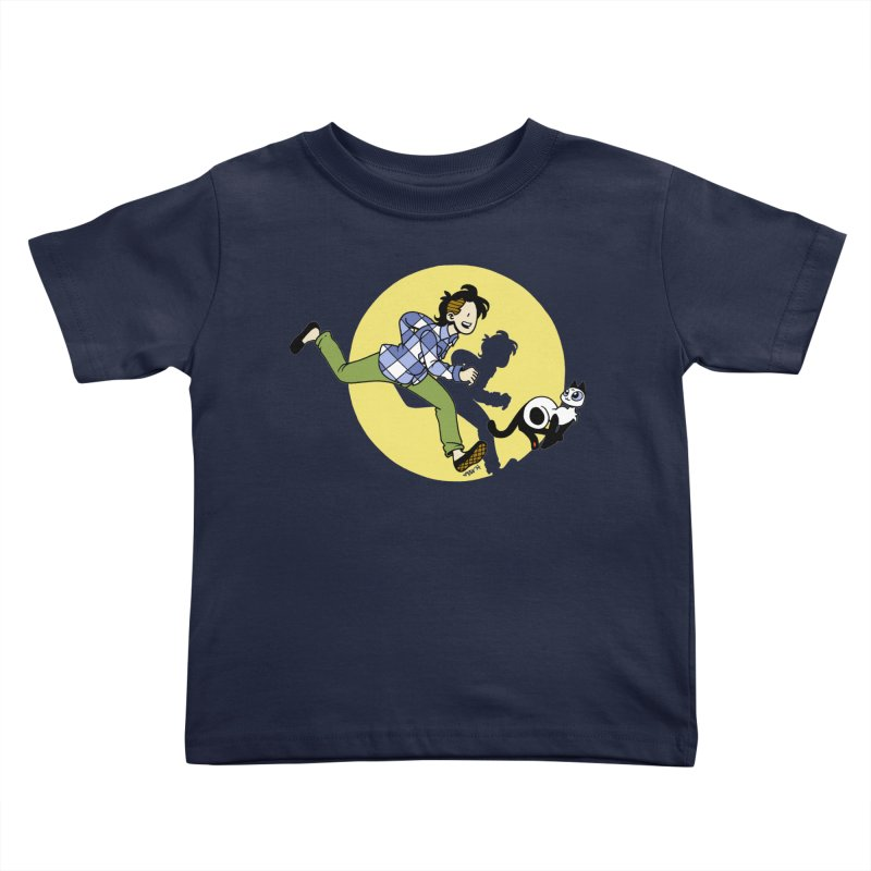 The Adventures of Frankie Kids Toddler T-Shirt by Mixtape Comics