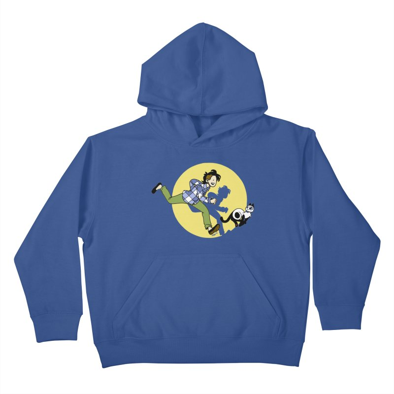 The Adventures of Frankie Kids Pullover Hoody by mixtapecomics's Artist Shop