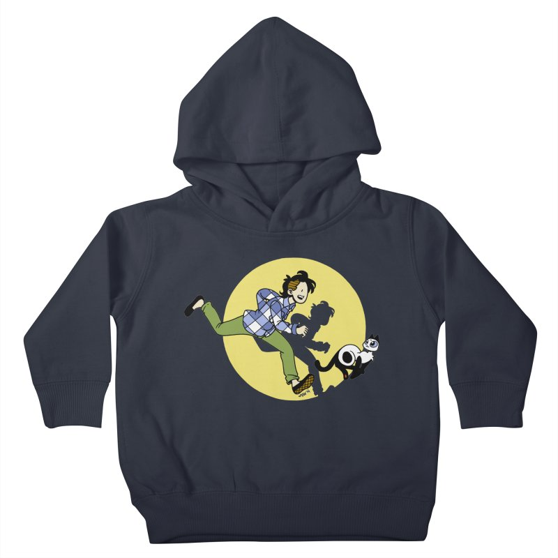 The Adventures of Frankie Kids Toddler Pullover Hoody by mixtapecomics's Artist Shop