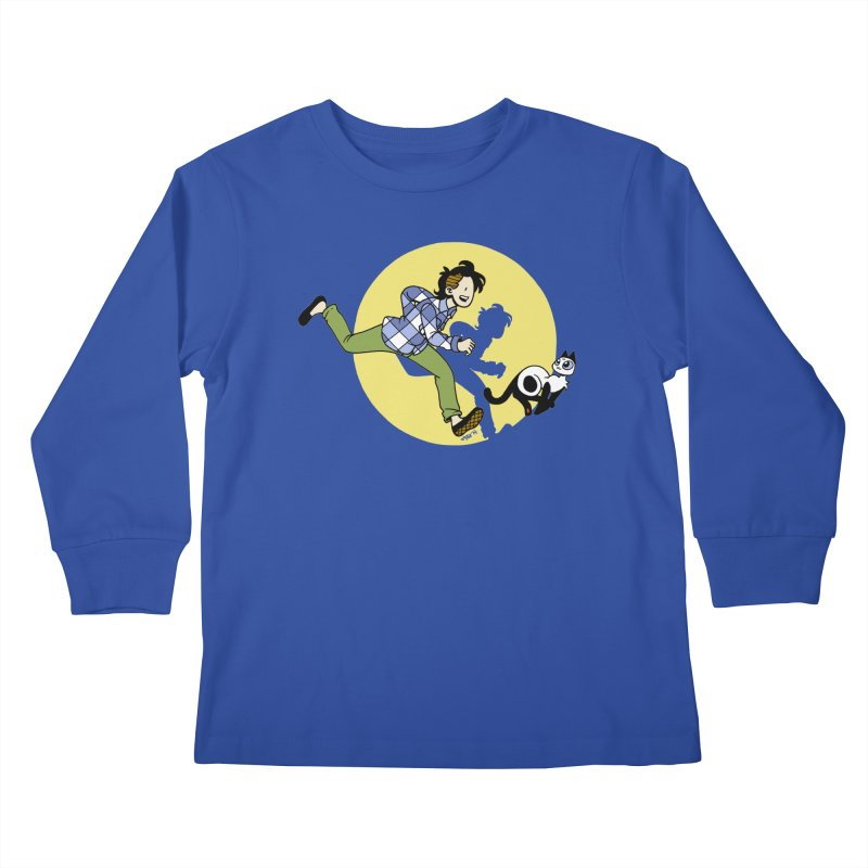 The Adventures of Frankie Kids Longsleeve T-Shirt by Mixtape Comics