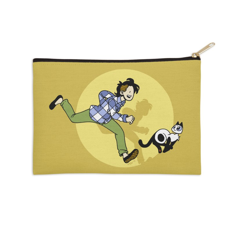 The Adventures of Frankie Accessories Zip Pouch by Mixtape Comics