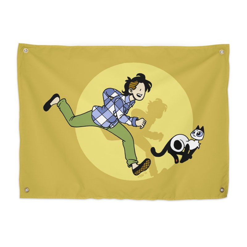 The Adventures of Frankie Home Tapestry by mixtapecomics's Artist Shop