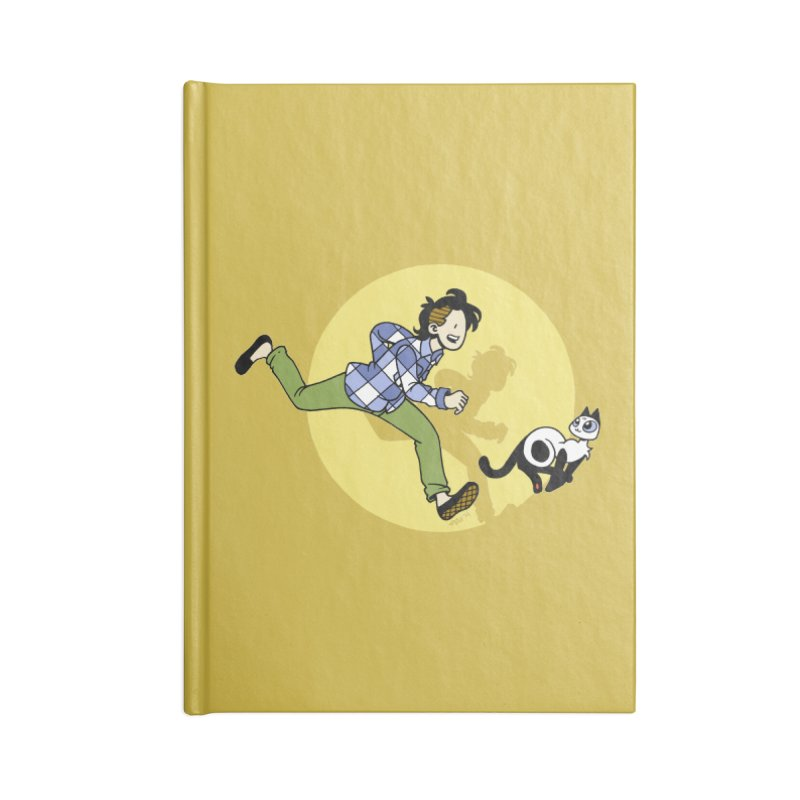 The Adventures of Frankie Accessories Lined Journal Notebook by Mixtape Comics