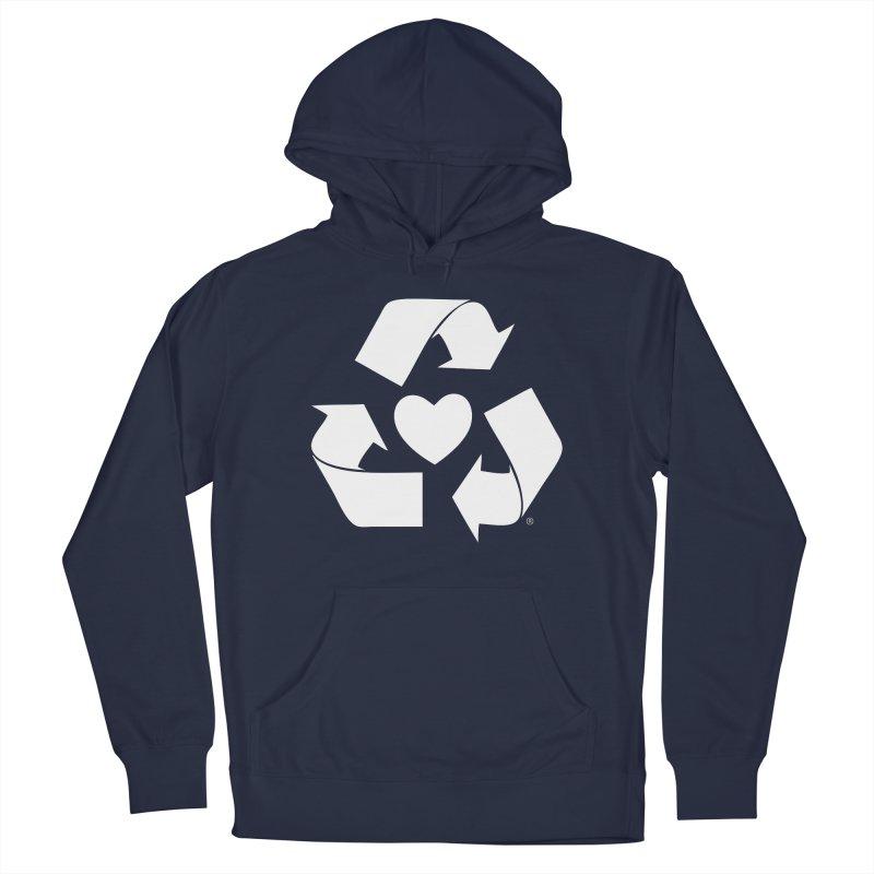 Recycle Heart Men's Pullover Hoody by Mixtape Comics