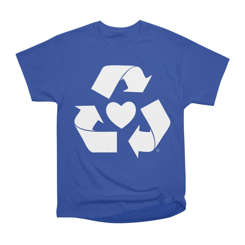 Recycle Heart Men's Heavyweight T-Shirt by mixtapecomics's Artist Shop