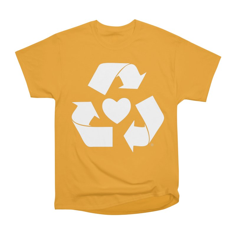 Recycle Heart Women's Classic Unisex T-Shirt by mixtapecomics's Artist Shop