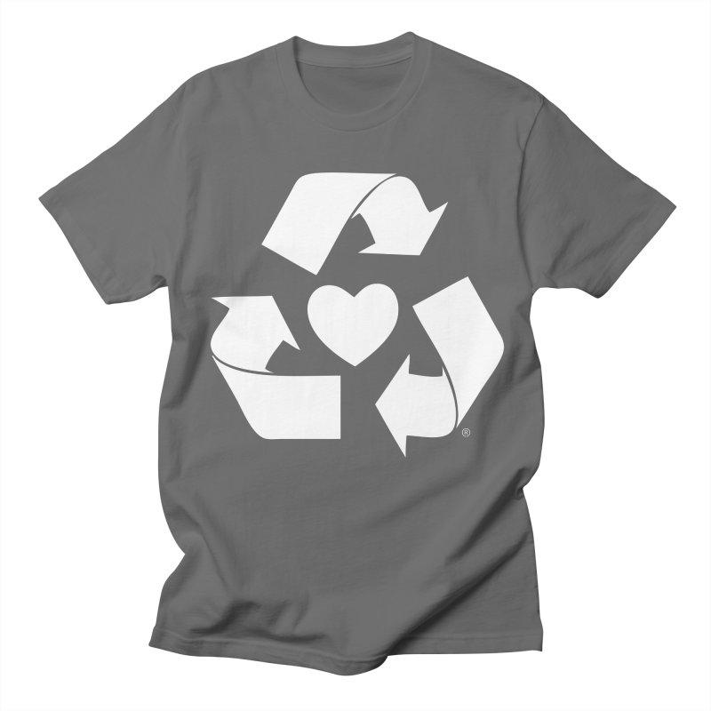 Recycle Heart Men's T-Shirt by Mixtape Comics