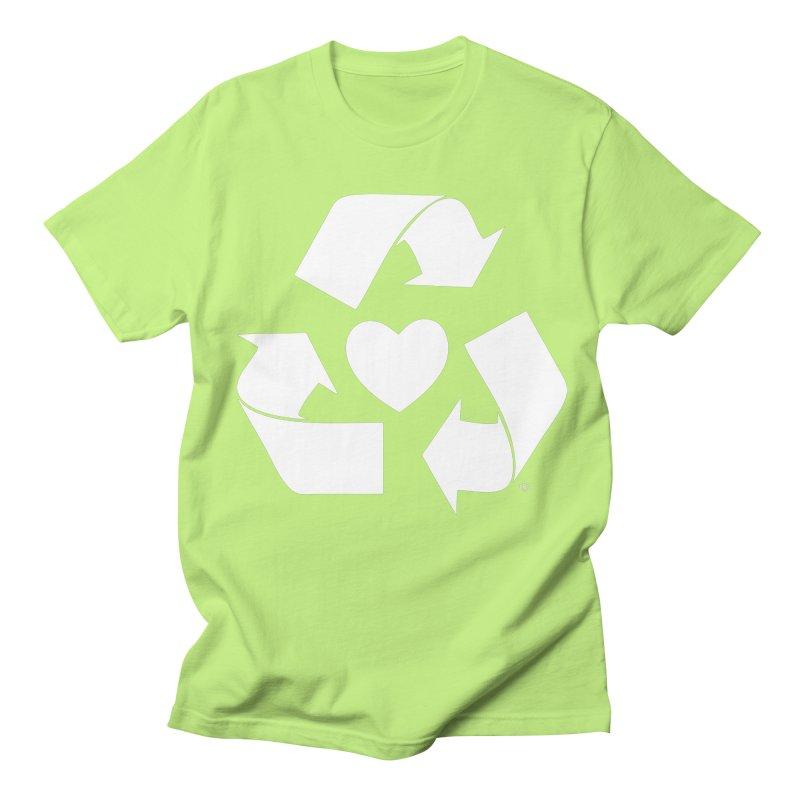 Recycle Heart Women's Regular Unisex T-Shirt by mixtapecomics's Artist Shop