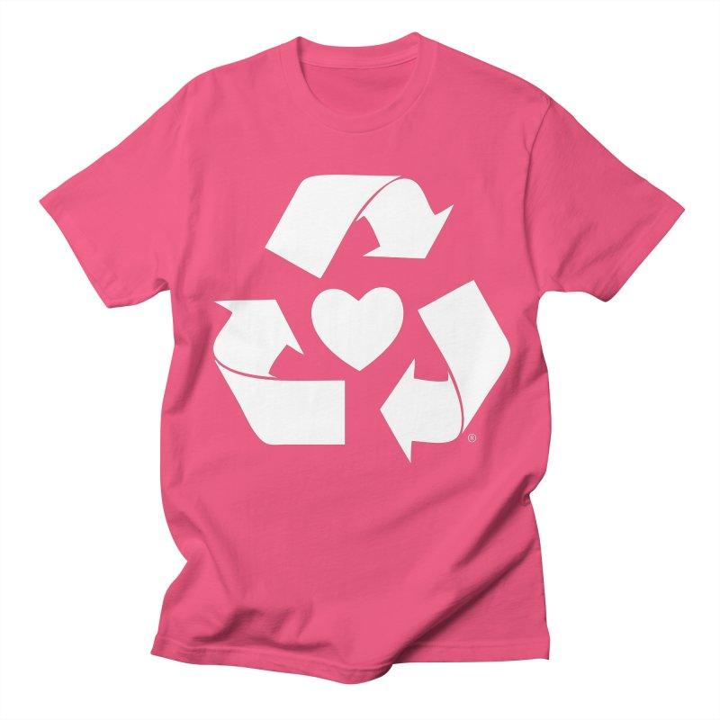 Recycle Heart Men's T-Shirt by mixtapecomics's Artist Shop