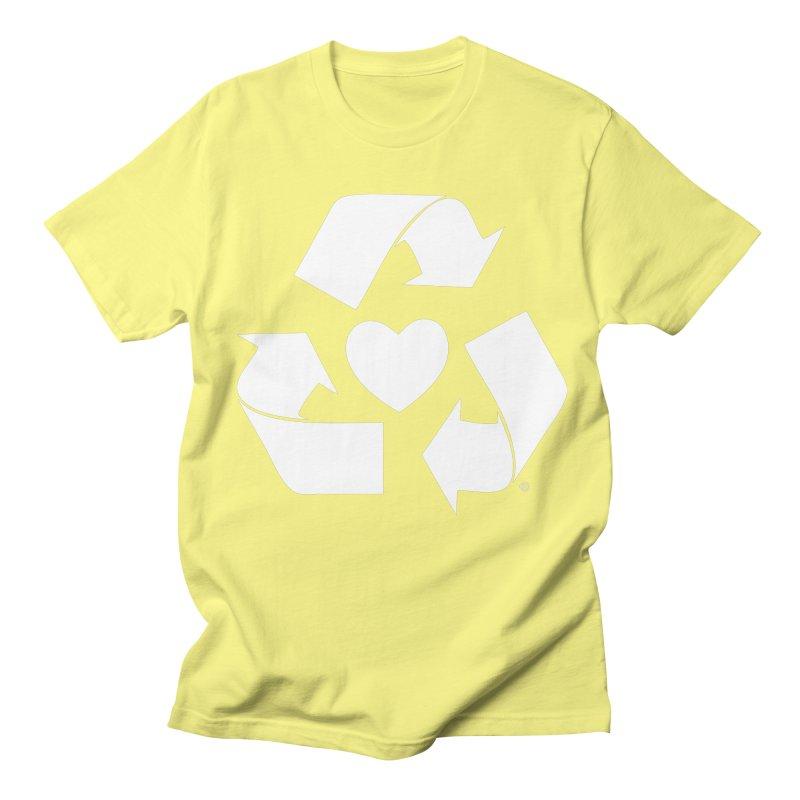 Recycle Heart Women's Unisex T-Shirt by mixtapecomics's Artist Shop