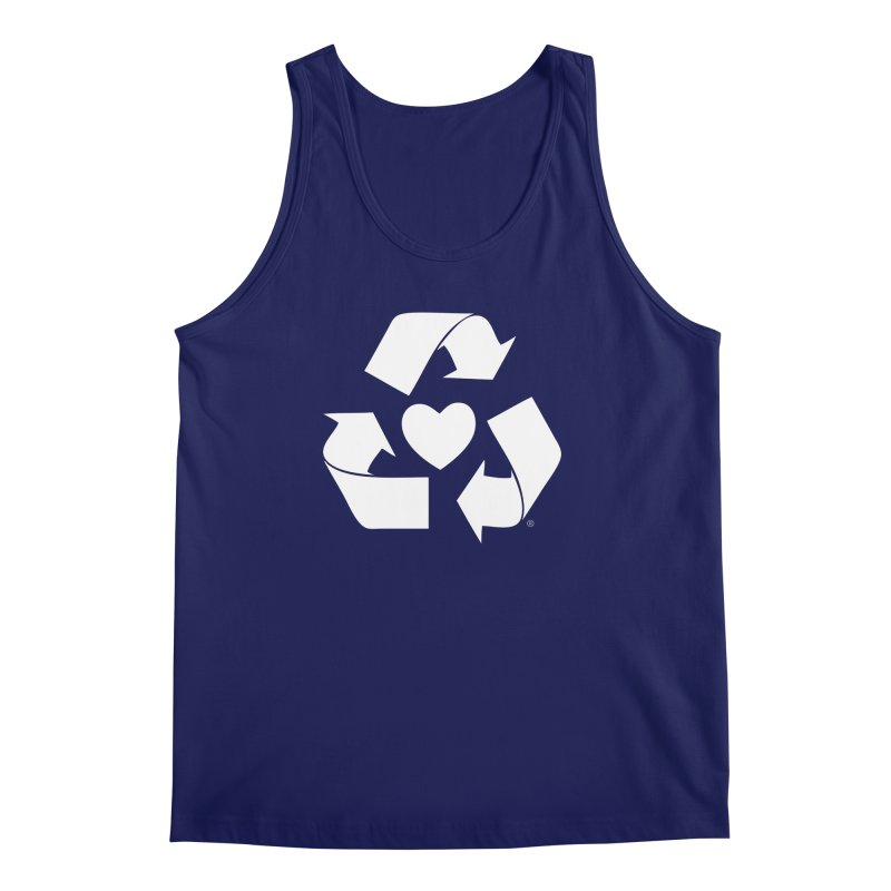 Recycle Heart Men's Regular Tank by mixtapecomics's Artist Shop