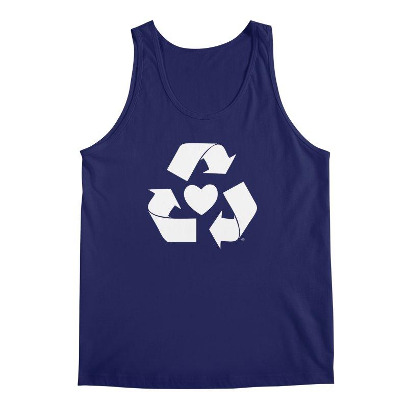 Recycle Heart Men's Tank by mixtapecomics's Artist Shop