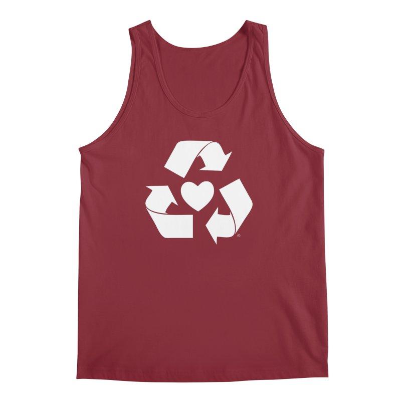 Recycle Heart Men's Regular Tank by mixtapecomics's Artist Shop