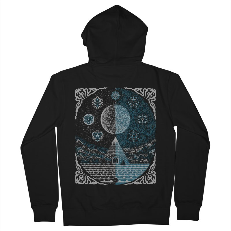 Another Land Men's Zip-Up Hoody by mixtink's Artist Shop