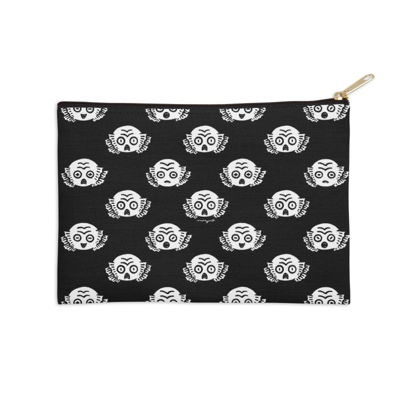 HANGYO Accessories Zip Pouch by Mizna Wada
