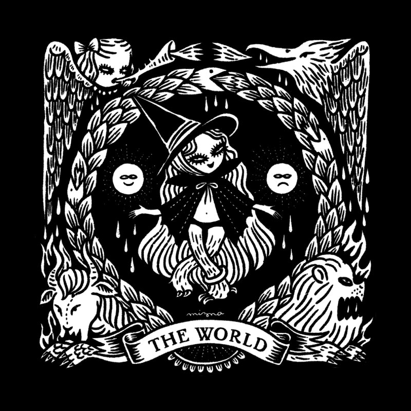THE WORLD Men's Tank by Mizna Wada