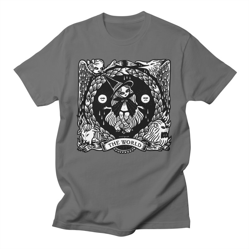 THE WORLD Men's T-Shirt by Mizna Wada