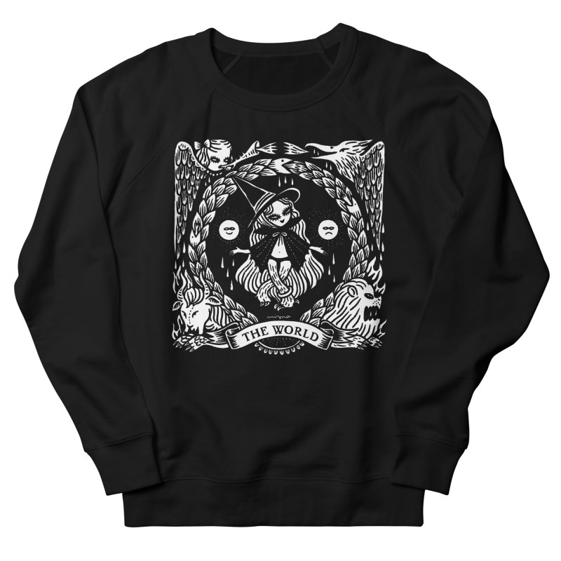THE WORLD Men's Sweatshirt by Mizna Wada