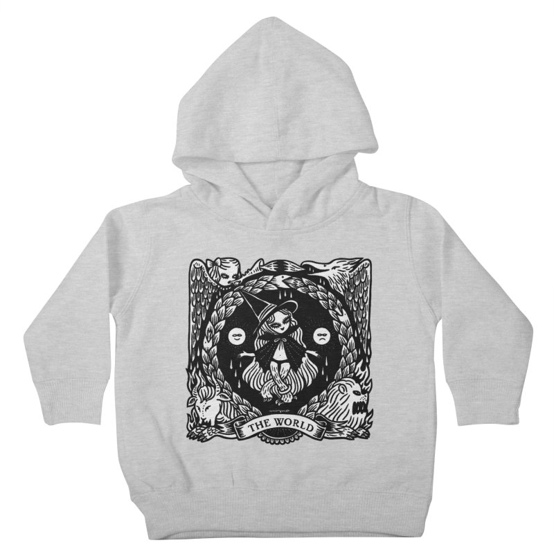 THE WORLD Kids Toddler Pullover Hoody by Mizna Wada