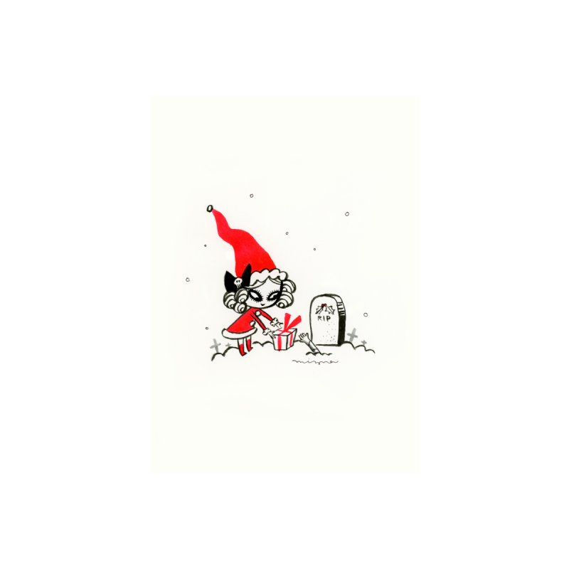 Christmas gift for you Accessories Greeting Card by Mizna Wada