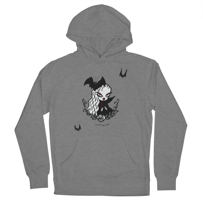 Lady Vamp -  for lighter color Women's Pullover Hoody by Mizna Wada