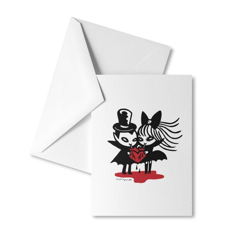 Vampire Love Accessories Greeting Card by Mizna Wada