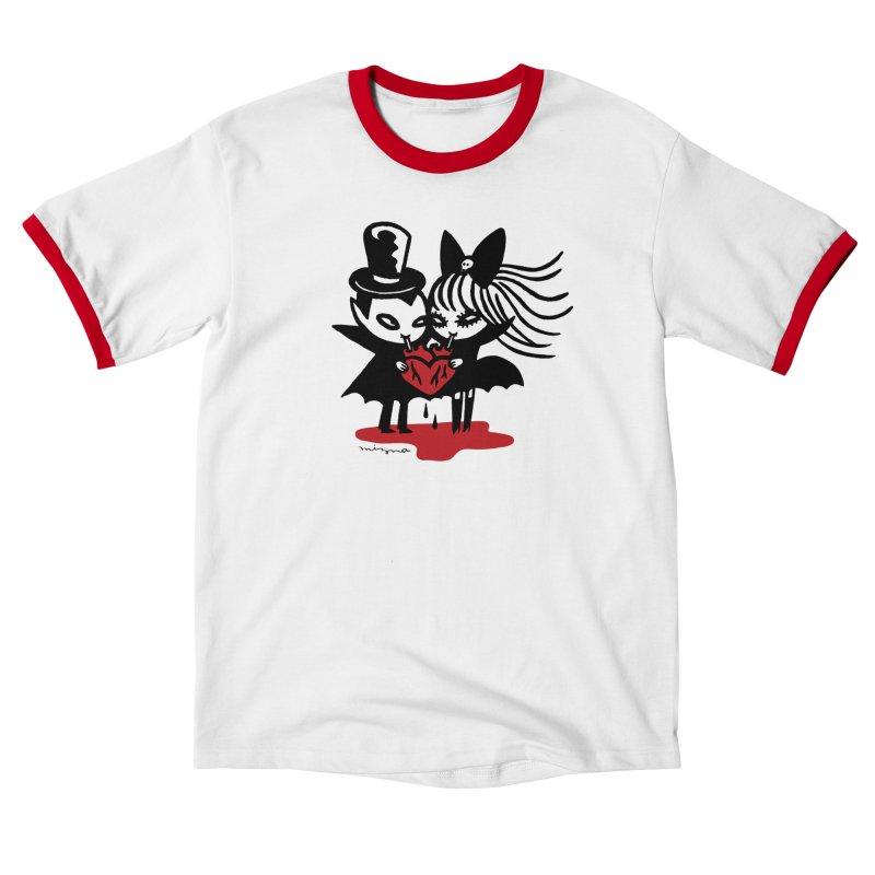 Vampire Love Men's T-Shirt by Mizna Wada