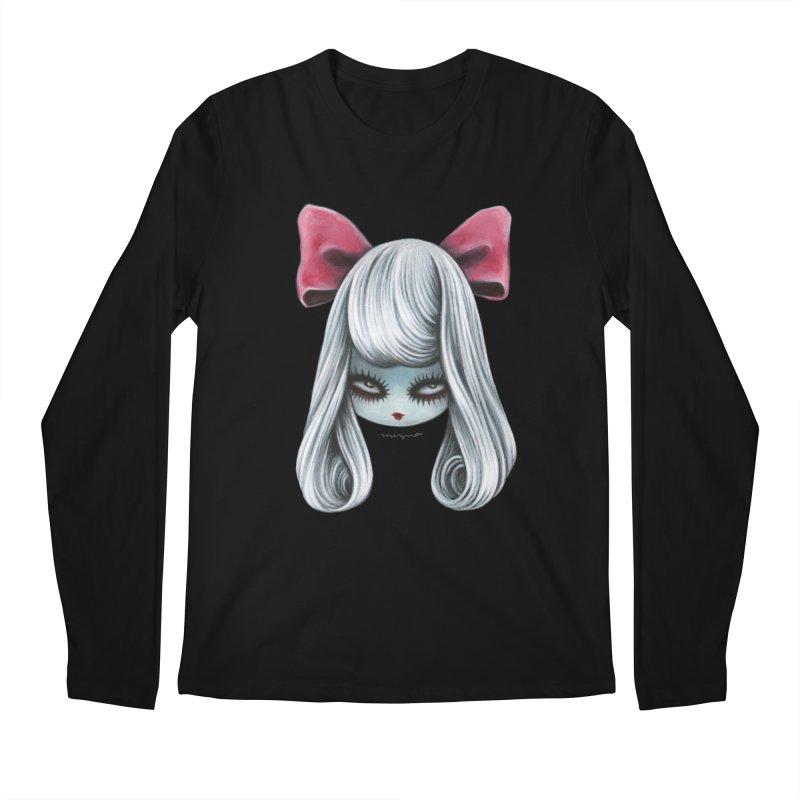 Ghost girl Men's Longsleeve T-Shirt by Mizna Wada