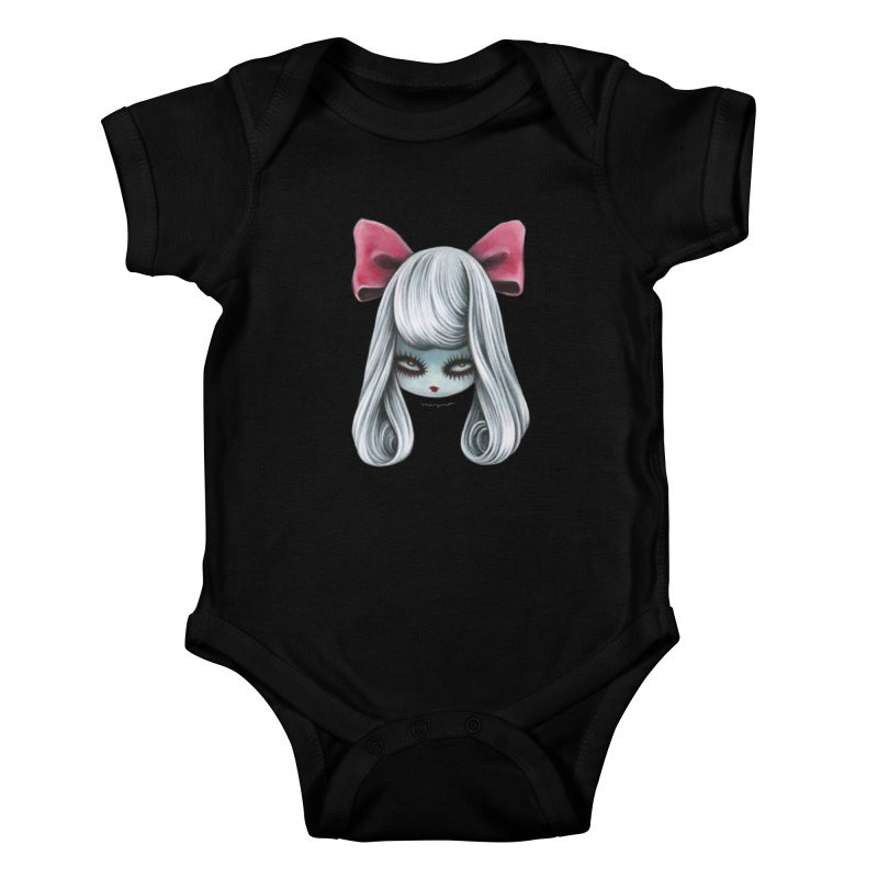 Ghost girl Kids Baby Bodysuit by Mizna Wada