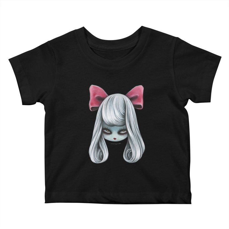 Ghost girl Kids Baby T-Shirt by Mizna Wada