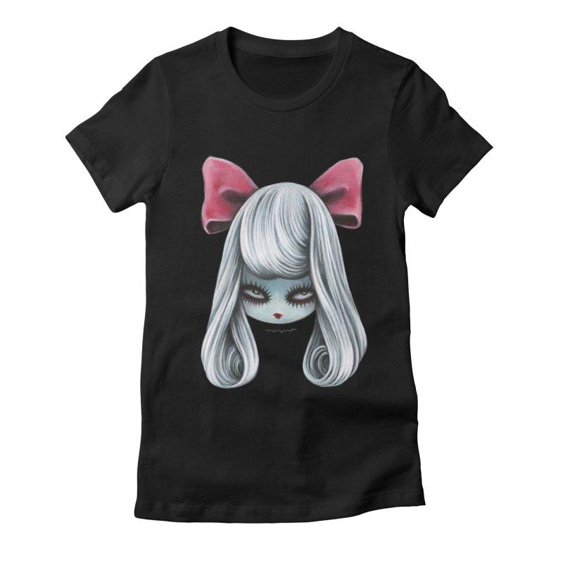 Ghost girl Women's T-Shirt by Mizna Wada