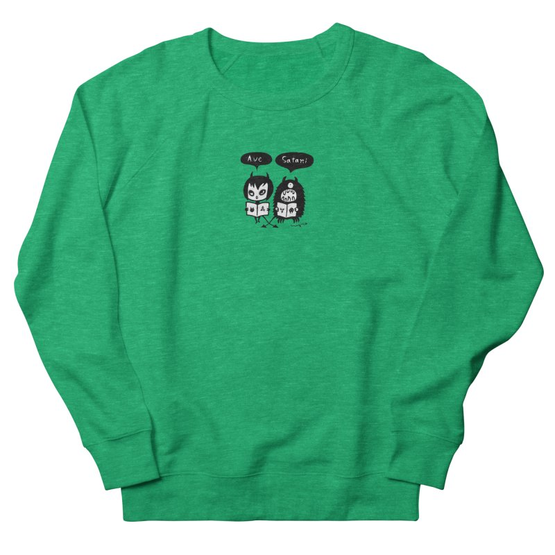 Ave Satani Women's Sweatshirt by Mizna Wada