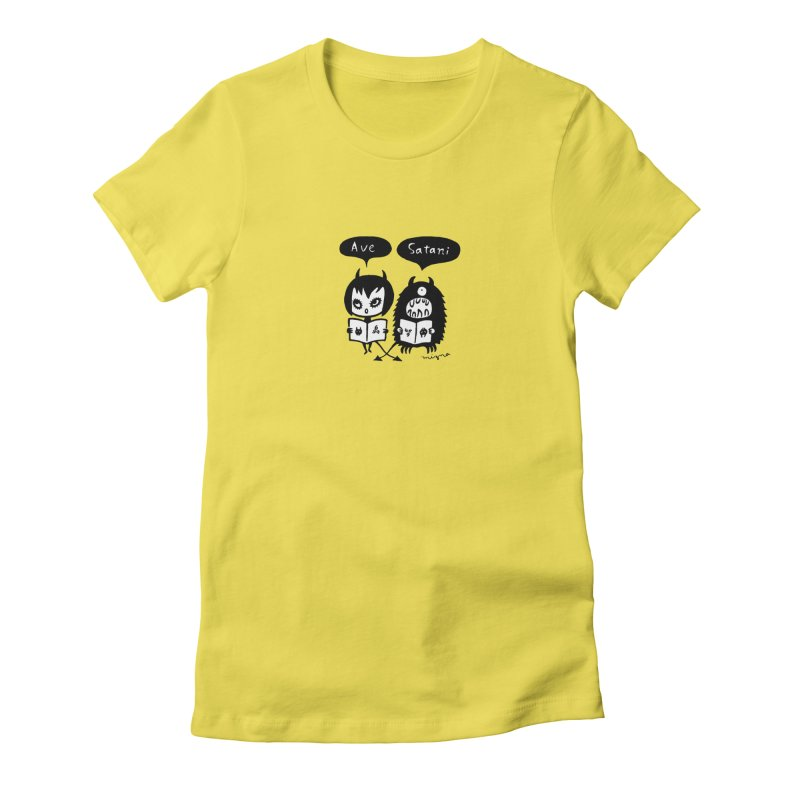 Ave Satani Women's T-Shirt by Mizna Wada