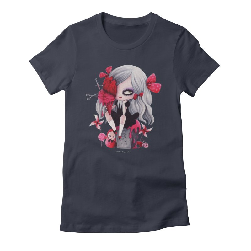 Midnight sweet time Women's T-Shirt by Mizna Wada