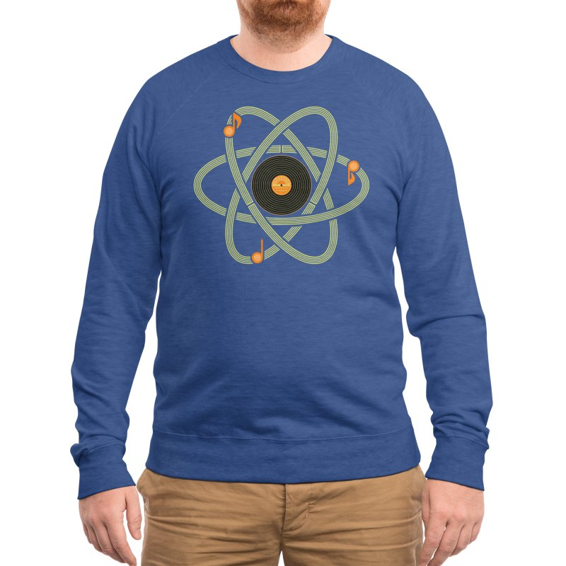 Molecular Music Men's Sweatshirt by mj's Artist Shop