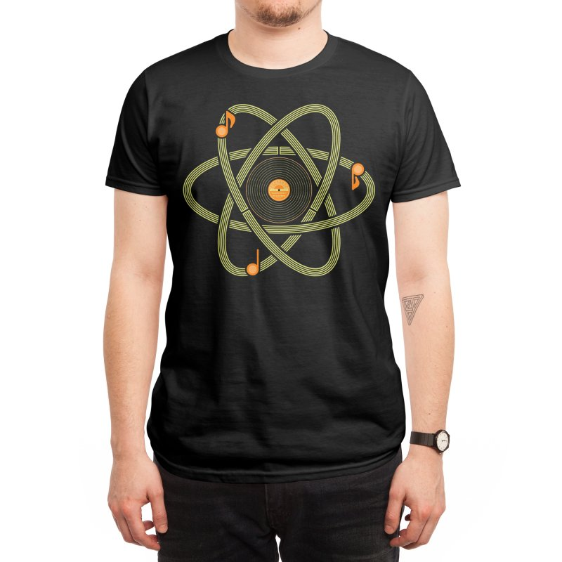Molecular Music Men's T-Shirt by mj's Artist Shop